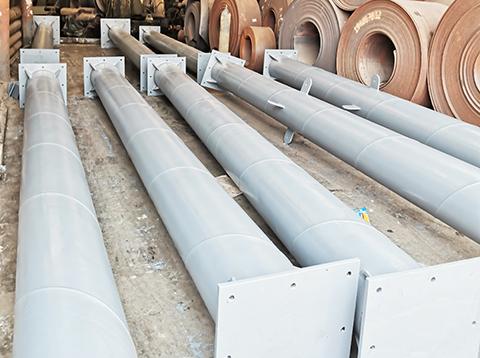厂房钢结构螺旋钢管