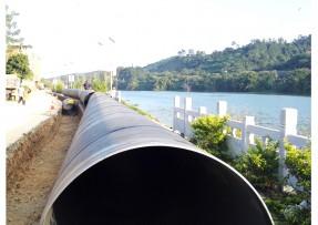 柳州市柳东新区自来水厂使用防腐钢管