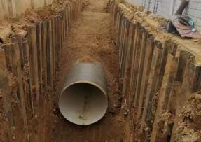 南宁陈村水厂出厂管给水螺旋钢管工程