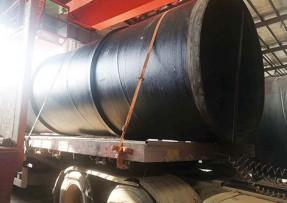 水处理用防腐螺旋钢管