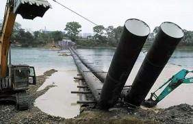 自来水厂管道用螺旋钢管