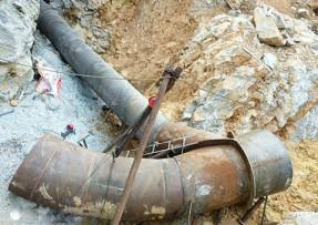 水电站用螺旋钢管