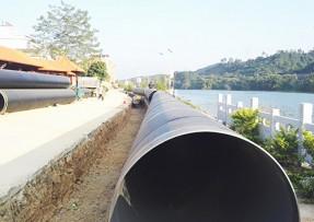 饮水管道用8710螺旋钢管